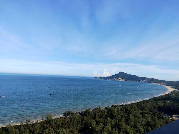 领金銮湾沙滩200米3房2卫海景房