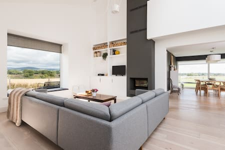 Architect designed home in rural Angus, Scotland