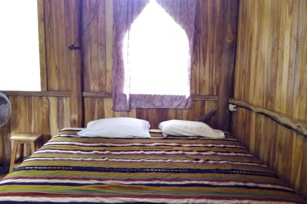 double bed with very good new mattress