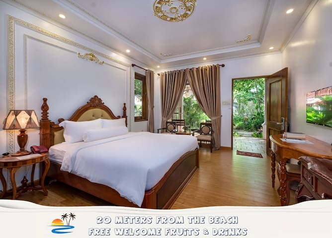 Green Area Room with Long Beach ⛱ FREE ✈ Transfer
