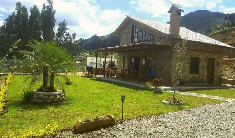 Beautiful 100m2 luxury house / cabin style Cuenca