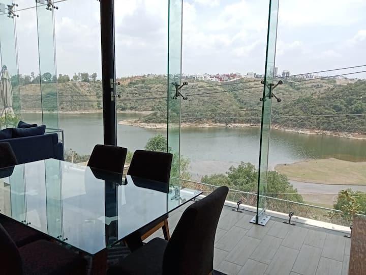 Vista al lago, hermosa casa, vista y privacidad