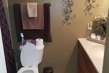 Main full bathroom.