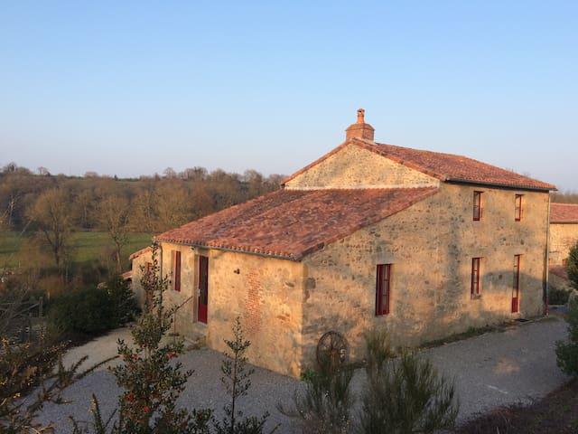 Le Fournil - Gîte pour 6 personnes - Tiffauges - Casa