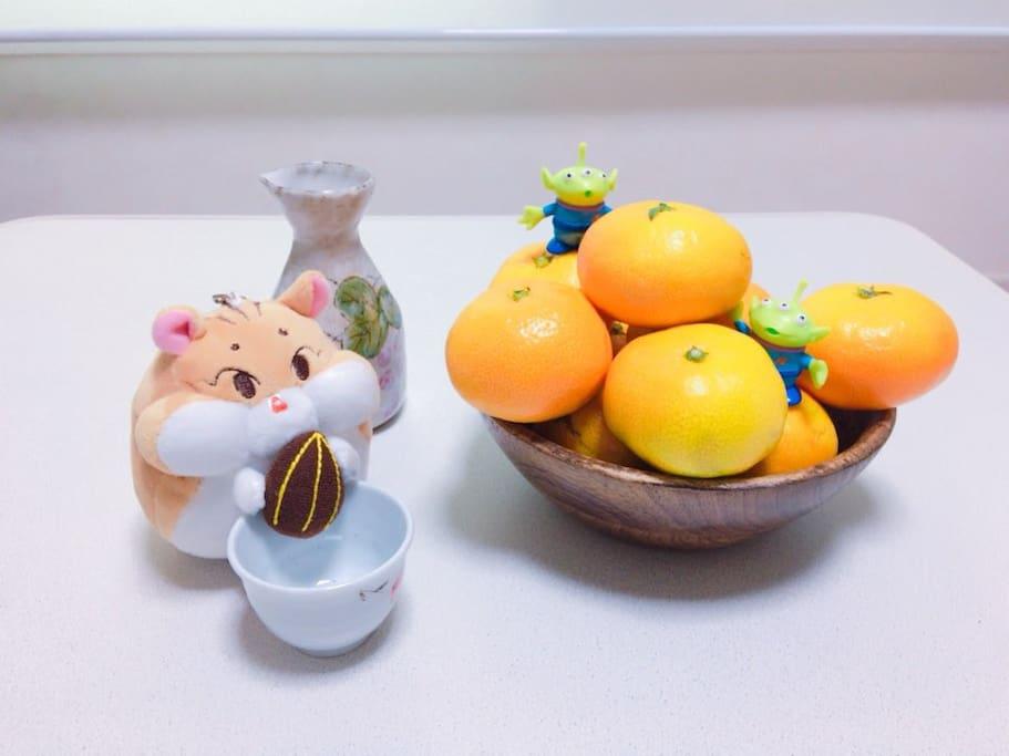 kotatsu and tangerine are invincible.
