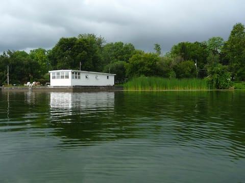 Boat House Getaway on Cayuga Lake