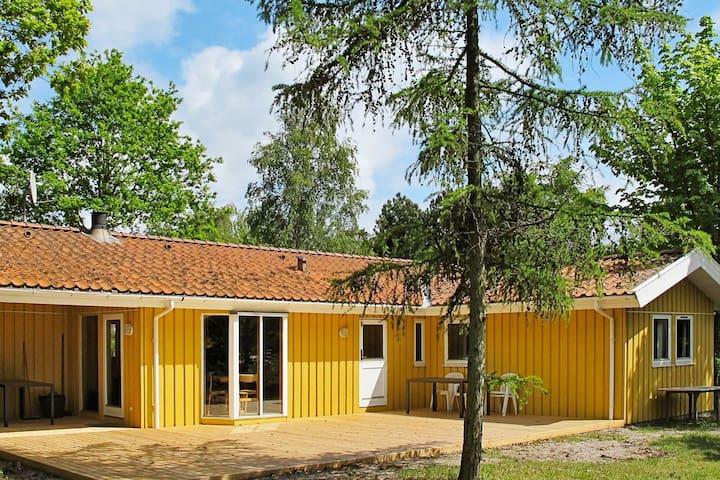 Calm Holiday Home in Væggerløse Denmark with Sauna