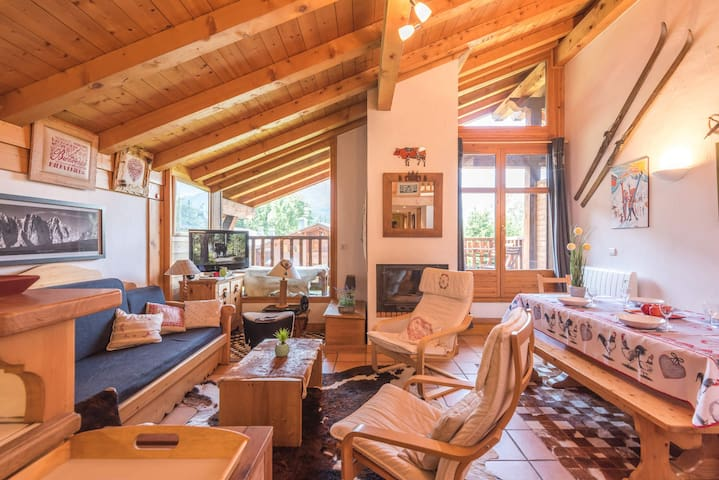 Sublime Apartment with 3 Bedroom in Chalet