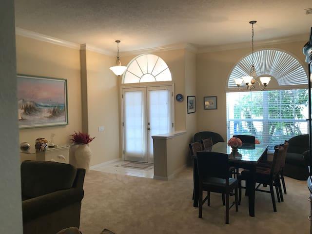 New! Fully Furnished 3 Bedroom Home In Hudson, FL