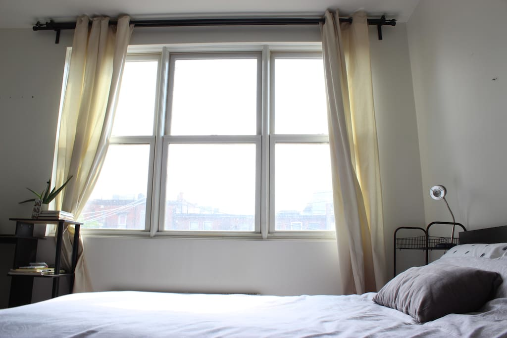 Wake up to natural light.