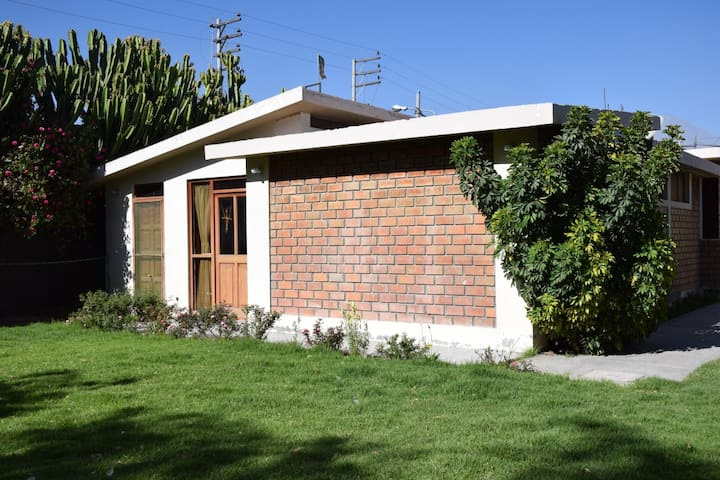 Private Bungalow with garden, gym, pool and more..