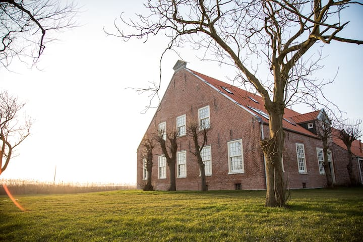 Apartment in restored Farmhouse from 1806 - Esens - Flat