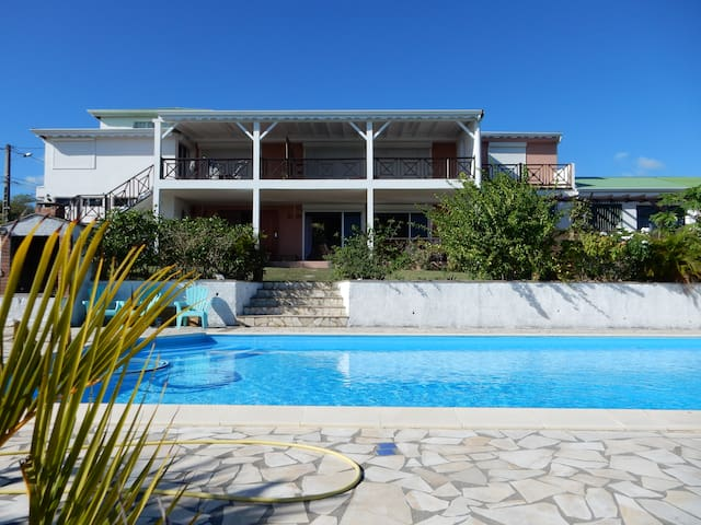 Gite piscine vue mer imprenable - Mare Gailard - Apartemen