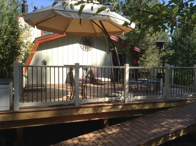 We are very proud of our deck construction project.