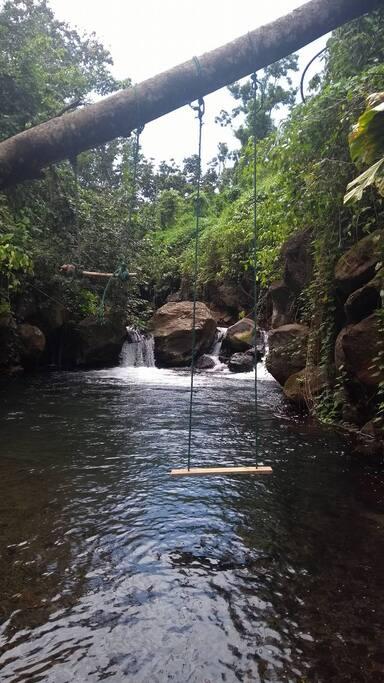 rivières du terrain