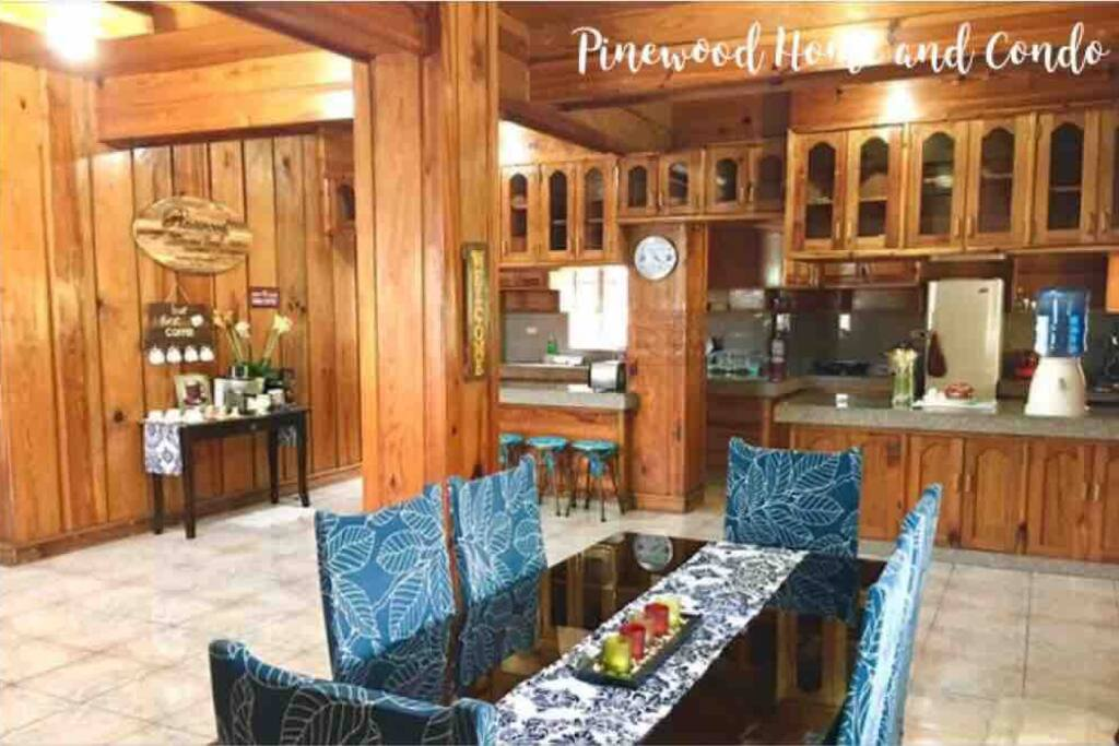 When ambiance of elegance, nature & relaxation blend to make the best Baguio vacation experience.. Take a glimpse of what a calming staycation looks like.  Our open layout of Dining and Kitchen area makes you move with ease while preparing your food.