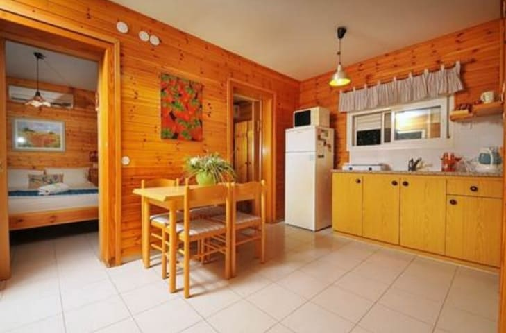 Laid-back chalet 2 in Golan Heights, Galilee Sea