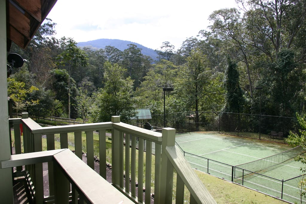 Mount Agony from Bower Bird Cottage.