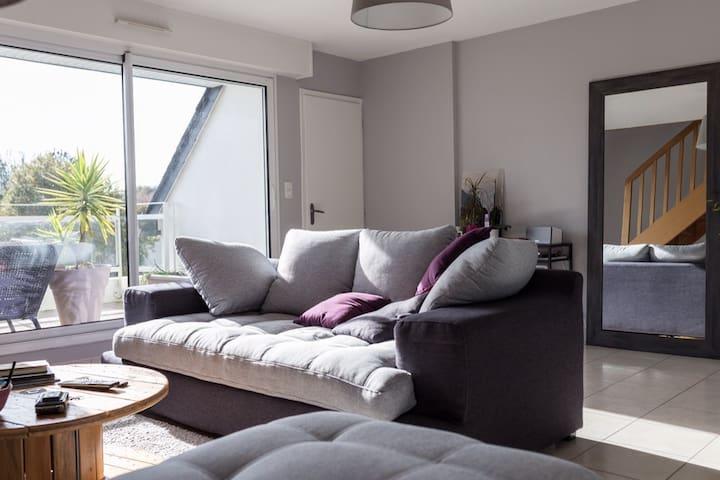 Appartement duplex,route des plages - Guidel - อพาร์ทเมนท์
