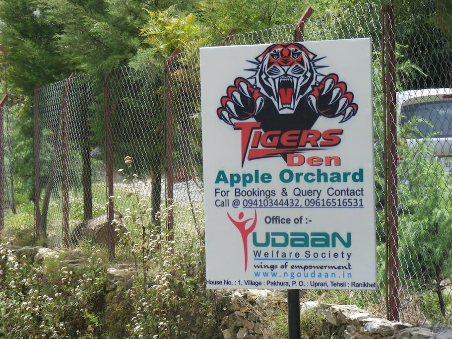 Entrance of the Orchard.