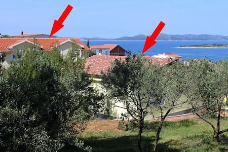 Two bedroom apartment with terrace and sea view Drage, Biograd (A-5904-a) - Drage - Apartment