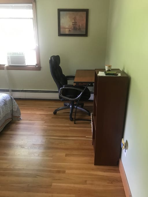 Desk and Chair in the rental room