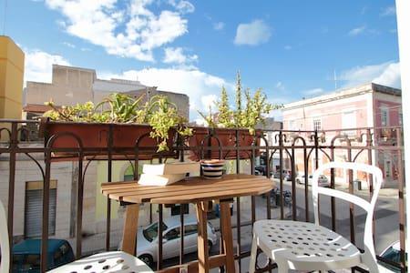 One step to Ortigia! (Balcony+Bikes+WiFi)