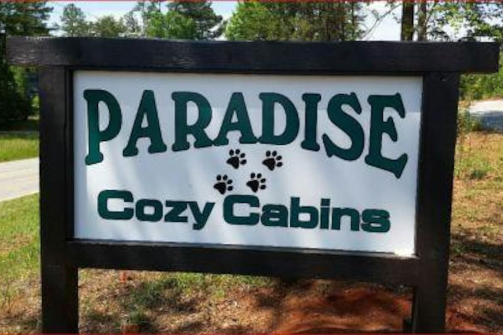 Welcome to Paradise Cozy Cabins