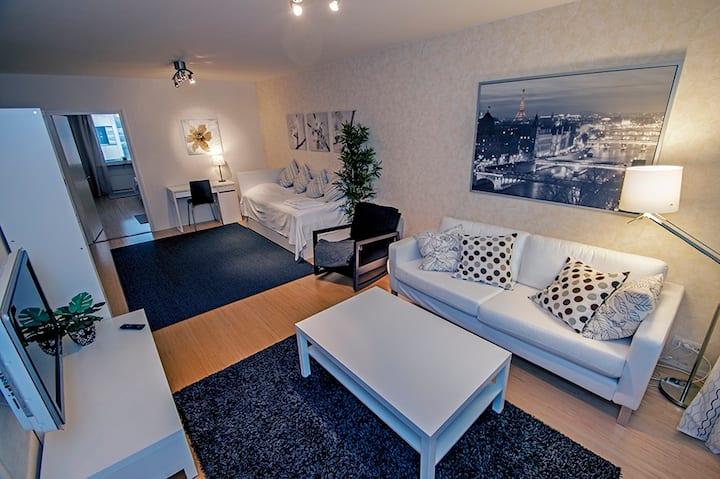 Spacious 2-br apartment at Tampere
