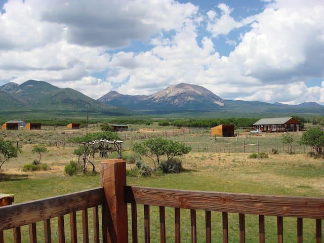 Bear Room in Mt. Peale Lodge (Near Moab, UT)