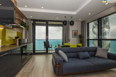 Beachfront Apartment with Panoramic View