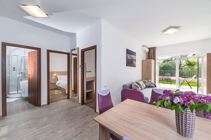 Two Bedroom apartament (3-5 pers)