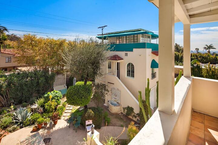 Charming Guesthouse with 360° view in Los Feliz