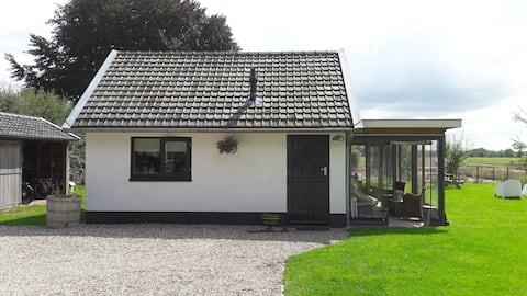 casa de campo ao ar livre atmosférica