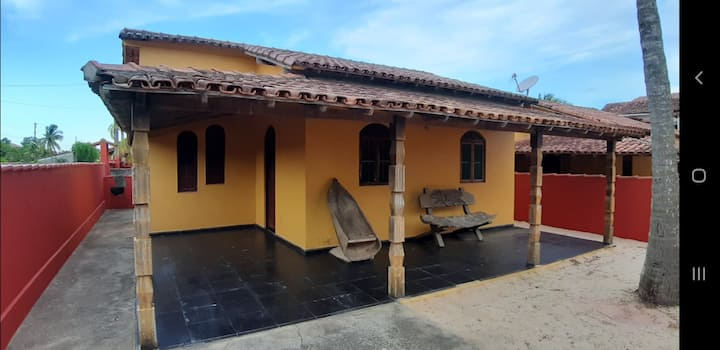 Residencial Gaivotas. 40m praia. Nova vicosa