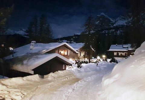 El teu racó del paradís als Dolomites.