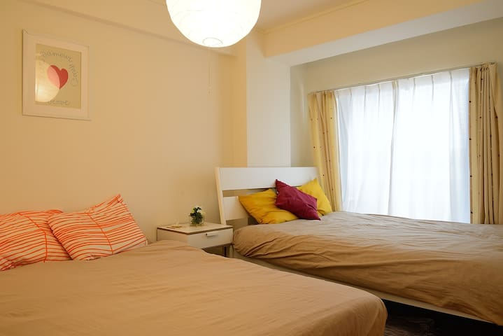 SHINJUKU  3 Beds 5mins to Station 2pocket Wi-Fi - Shibuya-ku - Apartment