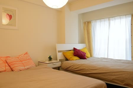 SHINJUKU  3 Beds 5mins to Station 2pocket Wi-Fi - Shibuya-ku