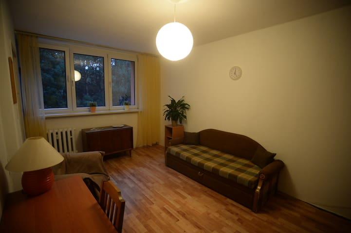 Idealne mieszkanie na OFF-spacerem przez dwa parki