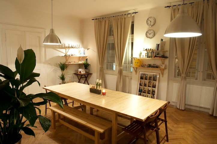Comfortable/Cozy room in Heart of Prague!!(3beds)