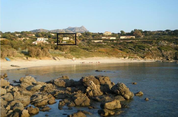 Villa vue sur la mer Marine de DAVIA - Corbara - Casa de férias
