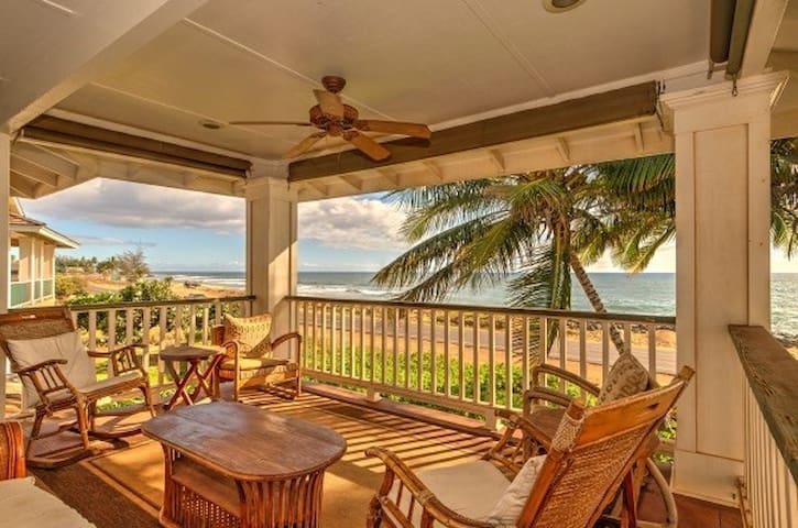 Elegant Malibu Style Beachfront House - TVNC-5162