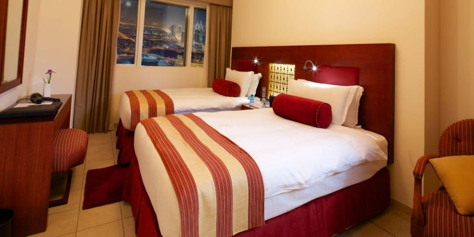 Bright double room in Dubai
