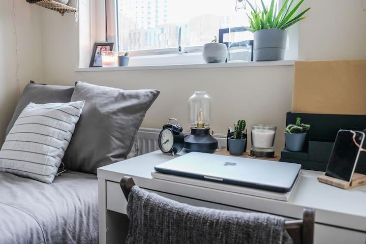 Single Private Bedroom in Central London