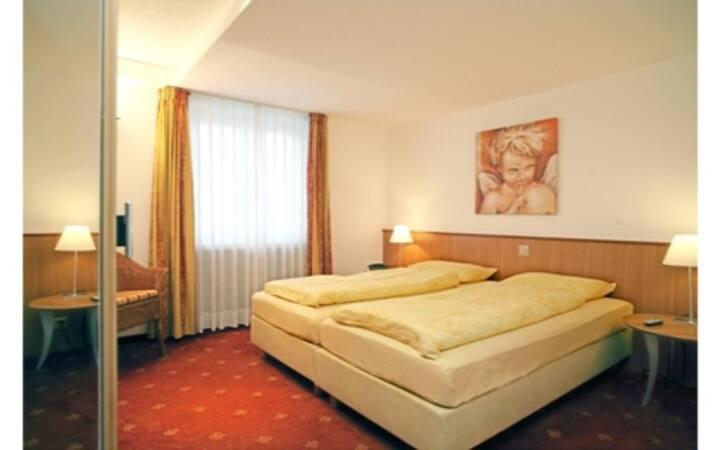 Schönes Doppelzimmer im familiären Casa Siesta