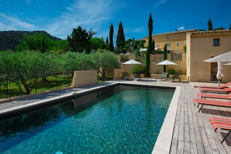 B&B in Provence: Mistral Suite - Le Barroux