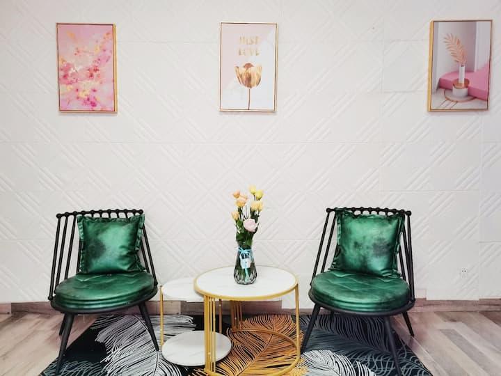 [pink桔梗]北欧风&兰州中心西站两室