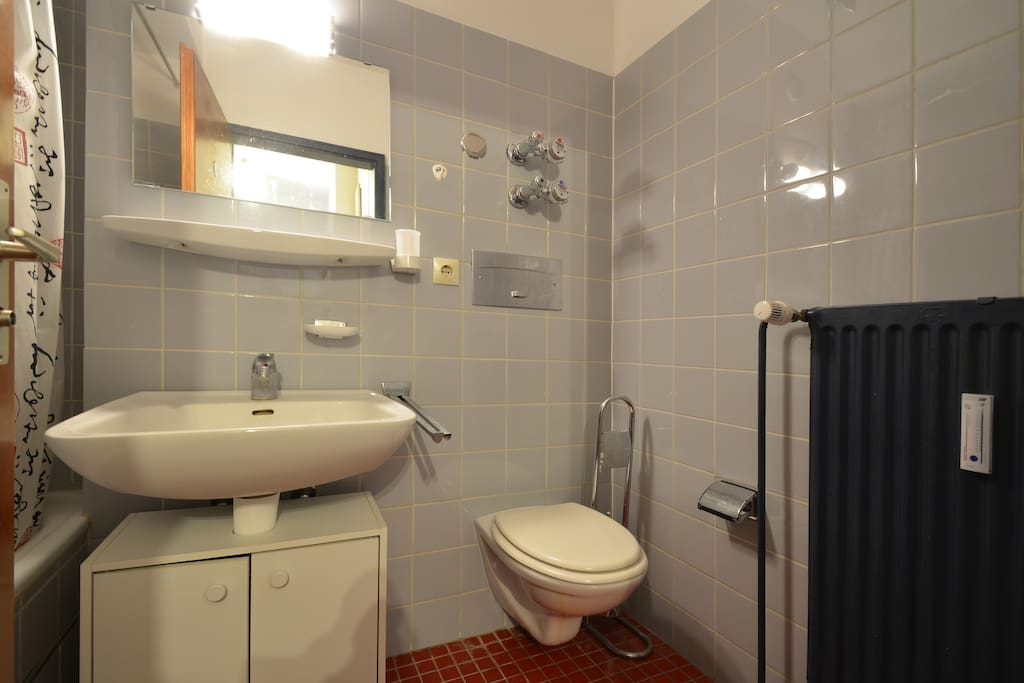 Functional bathroom / Funktionelles Badezimmer