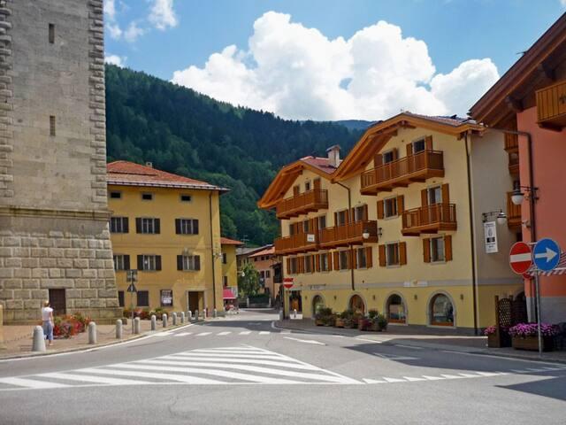 Appartamento in centro a Pinzolo