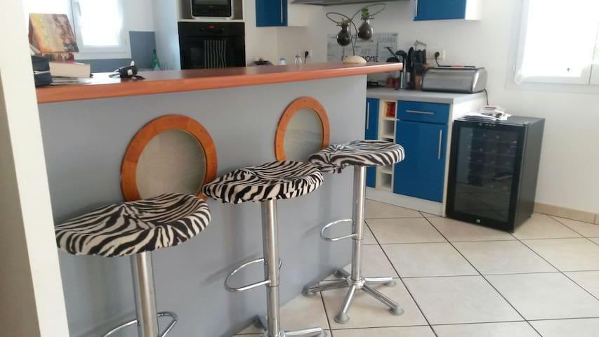 Chambre dans villa design et cosy - Cambo-les-Bains - House